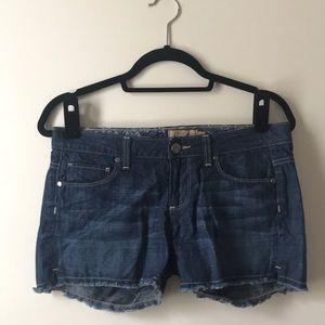 Paige Denim Shorts Size 27